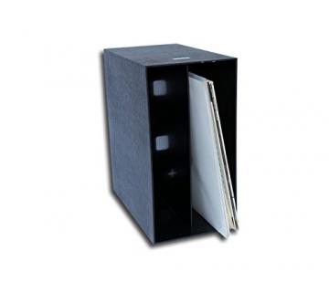 LP Schallplatten Kunststoff Box schwarz Protected - 2