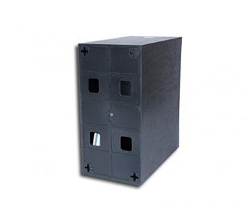 lp schallplatten kunststoff box schwarz protected vinyl. Black Bedroom Furniture Sets. Home Design Ideas