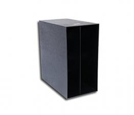 LP Schallplatten Kunststoff Box schwarz Protected - 1