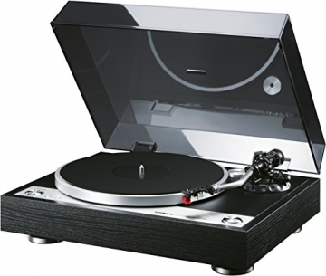 Onkyo CP-1050 (D) Hi-Fi Plattenspieler (Direktantrieb, 33/45rpm, MM Tonabnehmer) schwarz - 2