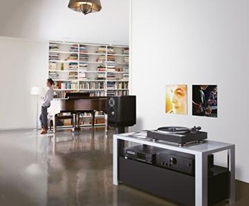 Onkyo CP-1050 (D) Hi-Fi Plattenspieler (Direktantrieb, 33/45rpm, MM Tonabnehmer) schwarz - 4