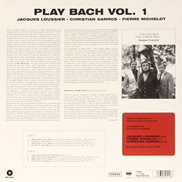 Play Bach Vol.1 Ltd.Edition 180gr [Vinyl LP] - 2