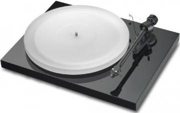 Pro-Ject Debut III Esprit Manueller Plattenspieler (MM-Tonabnehmer Ortofon Alpha, Pro-Ject 8.6 Tonarm) glänzend schwarz - 1