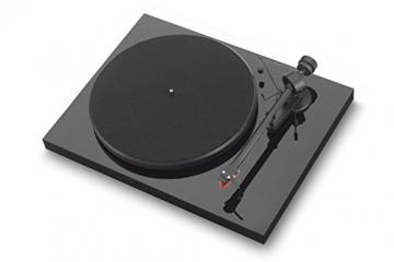 Pro-Ject Debut III Plattenspieler Premium Piano (Ortofon 2M Red) - 1