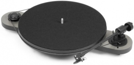 Pro-Ject Elemental Phono USB Manueller Plattenspieler mit Phonovorstufe & USB Ausgang silber/schwarz - 1