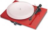 Pro-Ject Juke Box Esprit Hifi-Kompaktanlage mit Plattenspieler (Tonabnehmer Ortofon Alpha) rot - 1