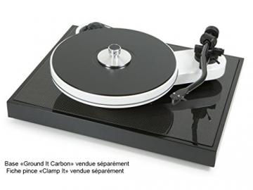 Pro-Ject RPM 3 Carbon, High End Plattenspieler inkl. Ortofon 2M Silver Tonabnehmer, Schwarz - 4