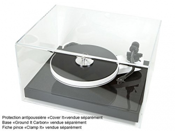 Pro-Ject RPM 3 Carbon, High End Plattenspieler inkl. Ortofon 2M Silver Tonabnehmer, Schwarz - 5