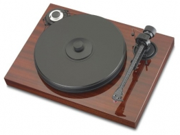 Pro-Ject Xperience Classic Plattenspieler (Tonabnehmer High-Output MC Sumiko Blue Point No. 2) mahagoni - 1