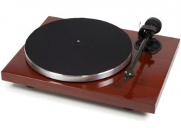 Pro-Ject Xpression Carbon Classic Plattenspieler (2MSILVER) mahagoni - 1