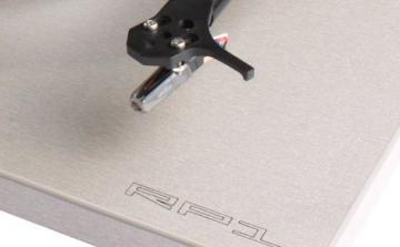 Rega Planar RP1 Plattenspieler | Farbe: Titanium - 1