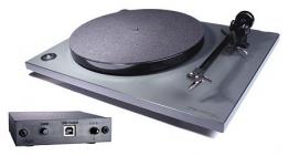 Rega RP 1 Cool Grey Plattenspieler | Vinyl Galore