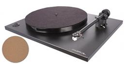 Rega RP 1 Cool Grey Plattenspieler + Korkmatte - 1