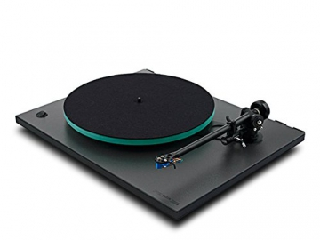 Rega RP3 High End Plattenspieler inkl. Ortofon 2M Blue MM-Tonabnehmer | Schwarz (Cool Grey) - 2