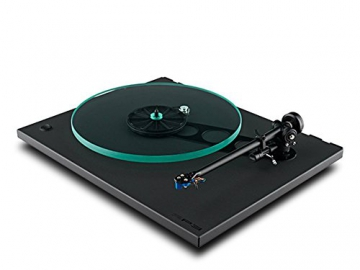Rega RP3 High End Plattenspieler inkl. Ortofon 2M Blue MM-Tonabnehmer | Schwarz (Cool Grey) - 3