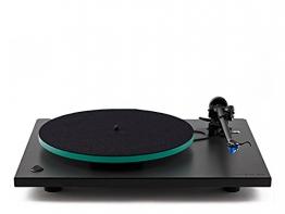 Rega RP3 High End Plattenspieler inkl. Ortofon 2M Blue MM-Tonabnehmer | Schwarz (Cool Grey) - 1