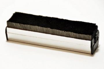 Samt Carbon Profi Vinyl Schallplatten Plattenbürste - 1
