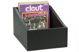 Single Schallplatten Vinyl Wood Box musictools, Holzkiste für 150 7 - 1