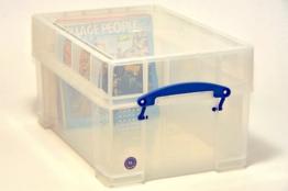 Single Vinyl Schallplatten Useful Box für 125 Schallplatten (9 Liter) - 1