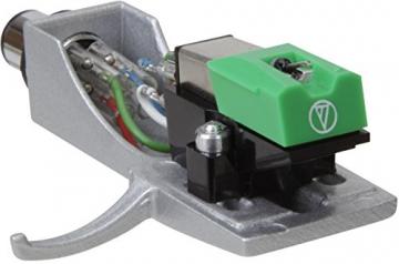 Teac TN-300-B HiFi-Plattenspieler (Riemenantrieb, 33/45rpm, USB-Ausgang für Mac/PC, Line/Phono Umschalter) schwarz - 3