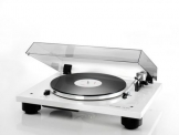 Thorens TD 206 High End Plattenspieler mit vormontiertem Tonabnehmer - Weiss glänzend - 1