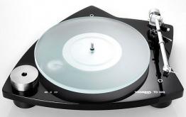 Thorens TD 309 Plattenspieler schwarz glänzend - 1