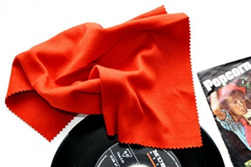 Vinyl Schallplattenbürste, Samtreiniger mit Saphir Reiniger - 2
