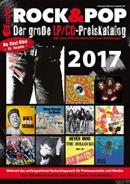 Der große Rock & Pop LP/CD Preiskatalog 2017 -