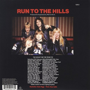 Run To The Hills [Vinyl Single] -