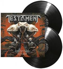 Testament Brotherhood of the snake 2-LP Standard