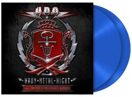 U.D.O. Navy Metal night 2-LP blau