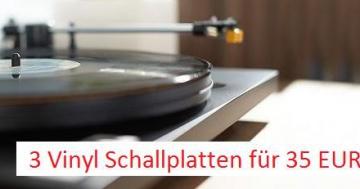 3 Vinyl für 35