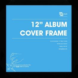 Vinyl-Rahmen für 12'' Album, schwarz