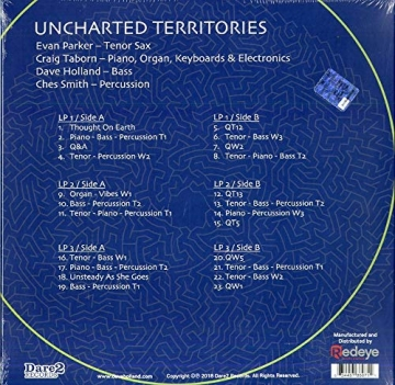 Dave Holland – Uncharted Territories (+ Evan Parker, Craig Taborn, Ches Smith) -