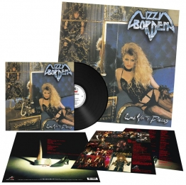 Lizzy Borden Love you to pieces LP Standard