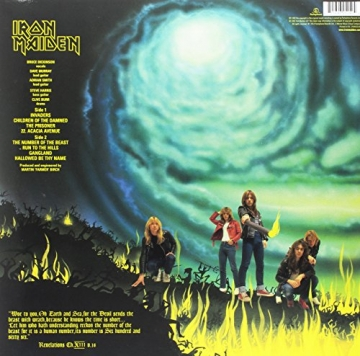 The Number of the Beast [Vinyl LP] - 2